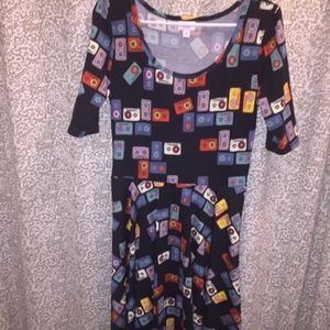 LuLaRoe Records Dress